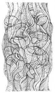 Tronco, 1972, the first artistic work of Gaetano Kanizsa
