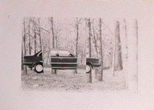 """Fotografia dell'immagine pubblicata nell'articolo """"seeing and thinking"""" (1985)"""