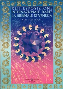 Cover page of the XLII Biennale di Venezia catalog, where Kanizsa exposed one of his artistic works (1986)